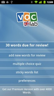 Learn English (UK) Flashcards - screenshot thumbnail