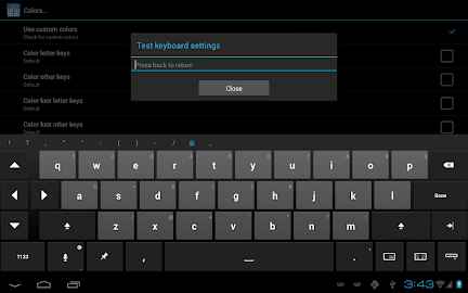 Thumb Keyboard Screenshot 4