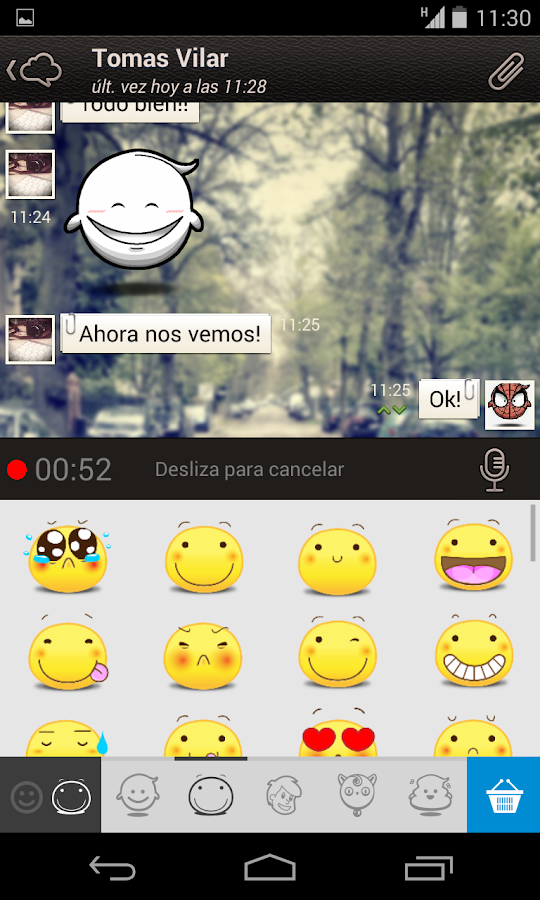 Hiapp Messenger- screenshot