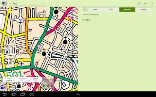 Screenshot of OS MapFinder