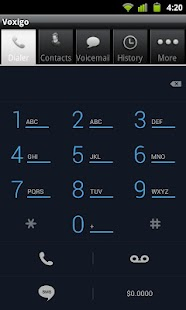 Voxigo-Cheap Mobile VOIP Calls - screenshot thumbnail