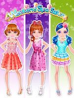 Screenshot of Weekend Spa Salon-Girls Games