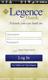 Legence Bank - screenshot thumbnail