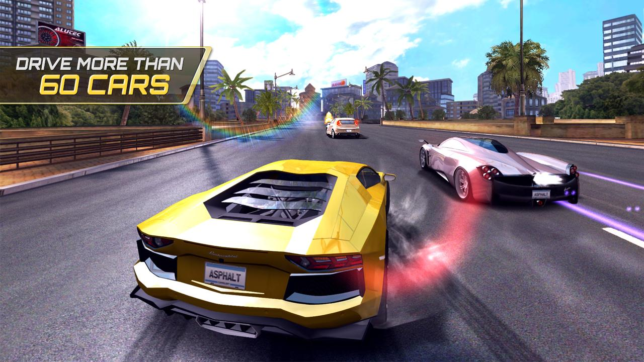 Asphalt 7: Heat - screenshot