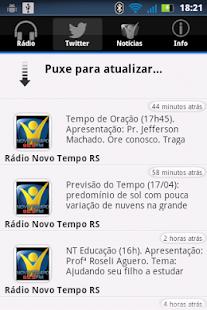 Rádio Novo Tempo 99.9 FM- screenshot thumbnail