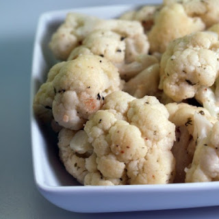 Garlic-Cauliflower Stir Fry
