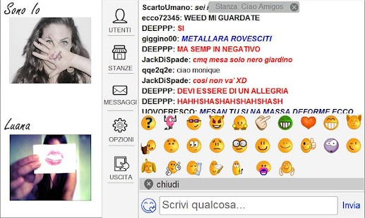 ciao aMigos.it  - videochat - screenshot thumbnail