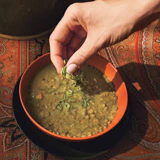 Curried Lentil Soup.