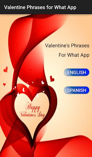 Valentine Phrases for What App