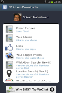 Album Downloader for Facebook - screenshot thumbnail