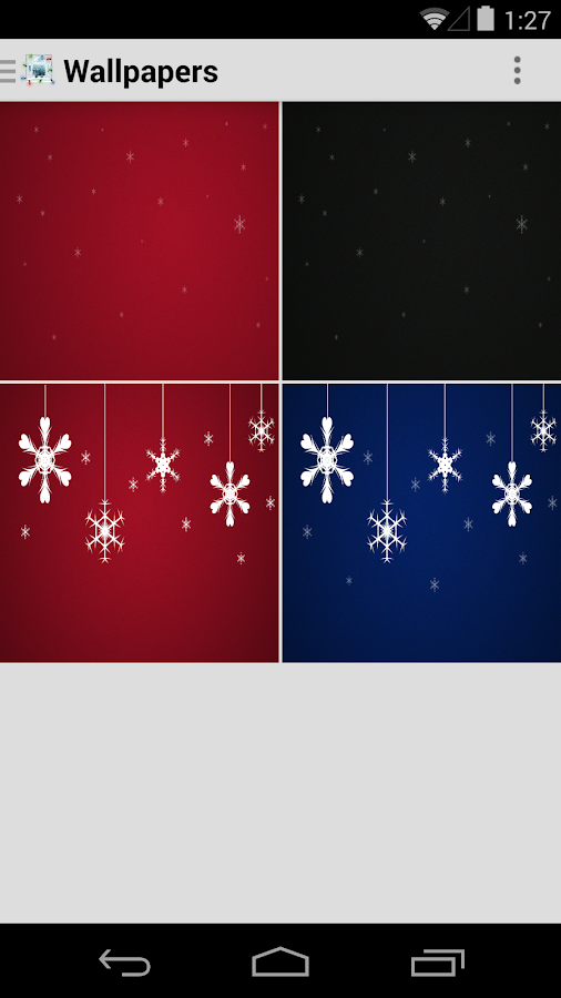 Icon Pack - Christmas Magic - screenshot