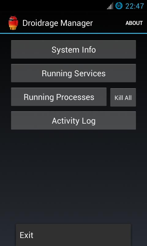 Dev Task Manager (Droidrage) - screenshot