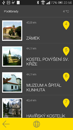 玩旅遊App|Poděbrady - audio tour免費|APP試玩