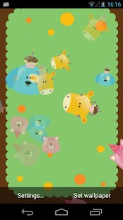 Happy Animals Live Wallpaper - screenshot thumbnail