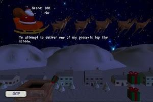 Screenshot of Santa's Christmas Adventure