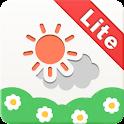お天気女子部Lite-天気の予測の無料ウィジェット