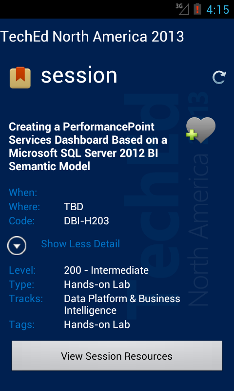 Ch9 Events - screenshot