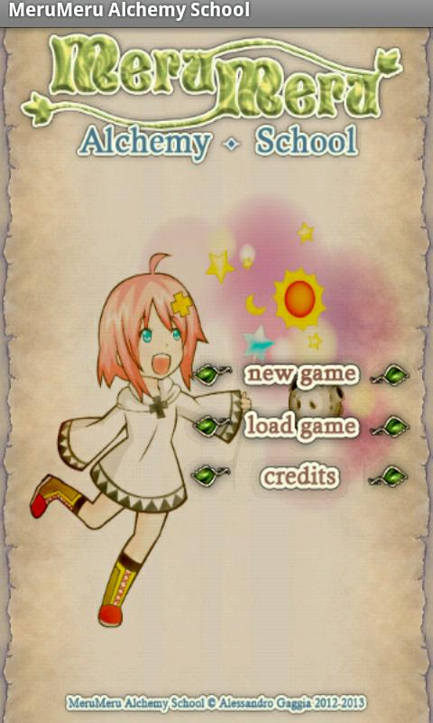 Meru Meru Alchemy School Free - screenshot