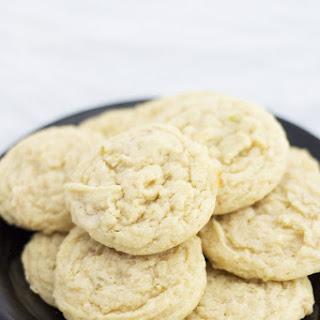 Coconut Lime Sugar Cookies.