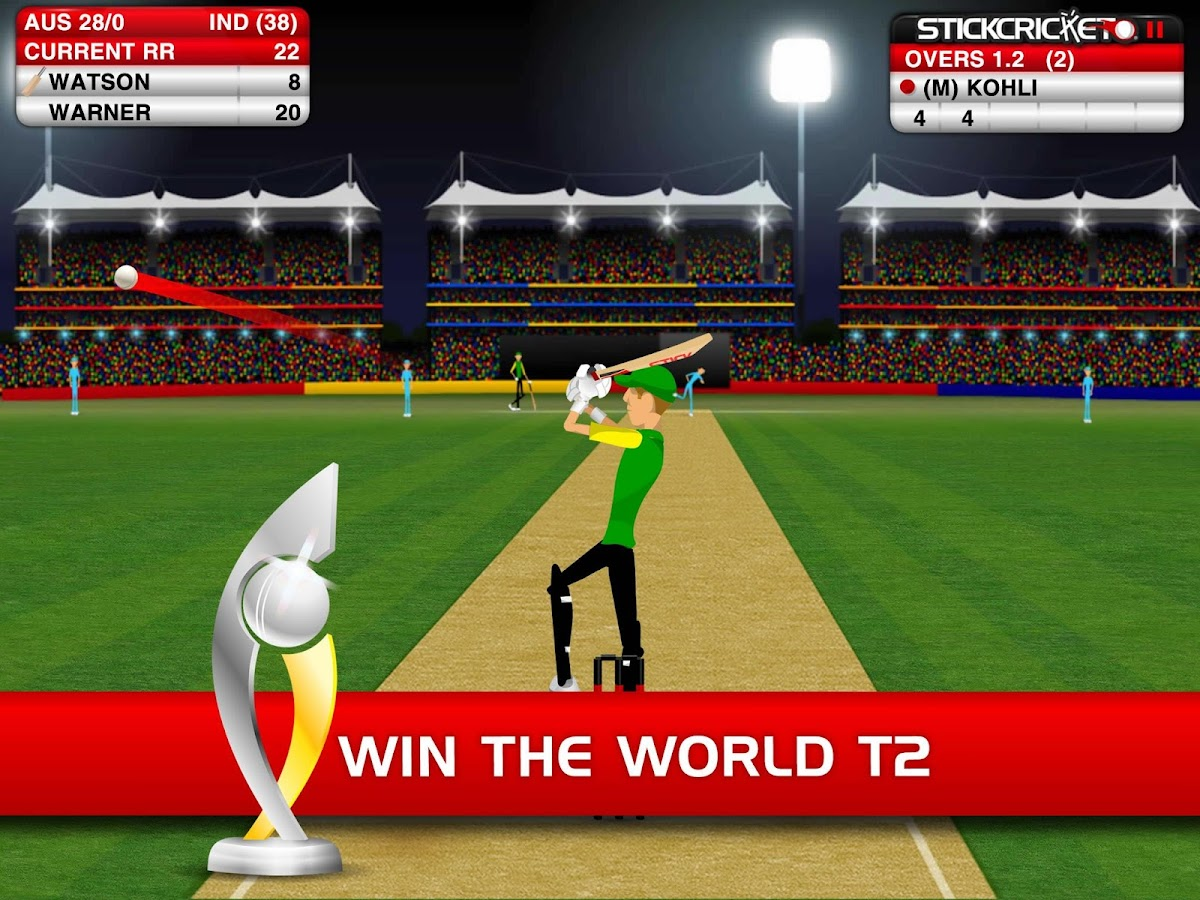 Stick Cricket- screenshot