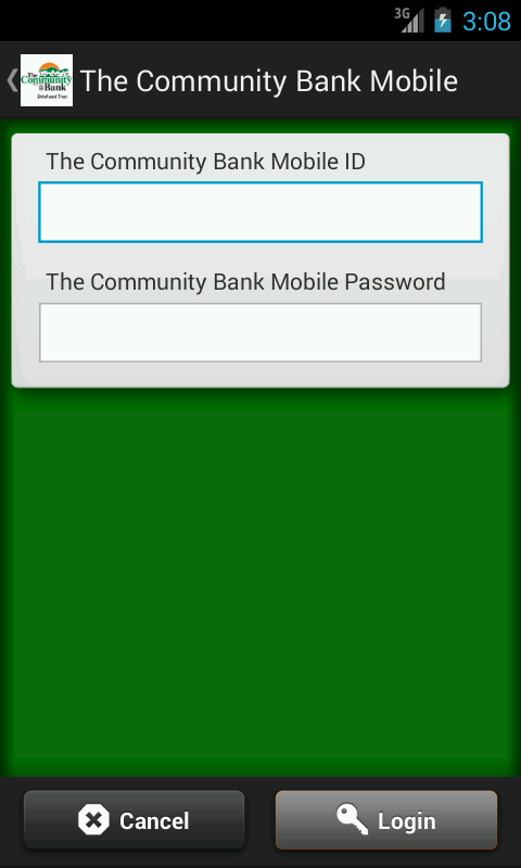 The Community Bank Mobile - screenshot