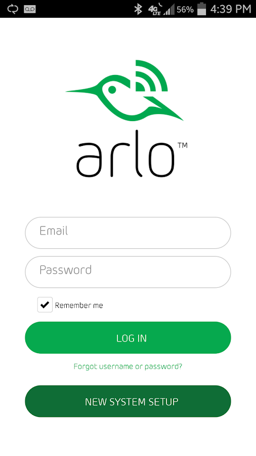 Arlo- screenshot