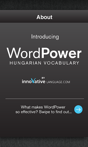 Learn Hungarian WordPower