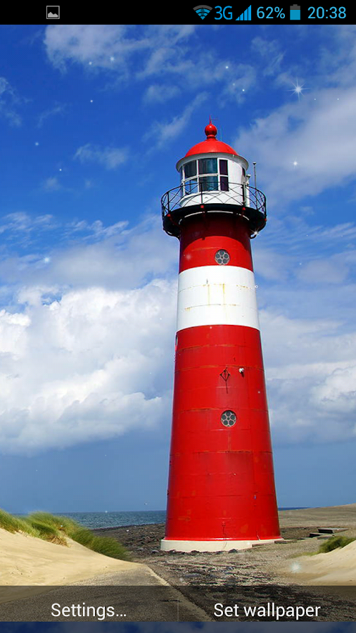 lighthouse live wallpaper android apps on google play