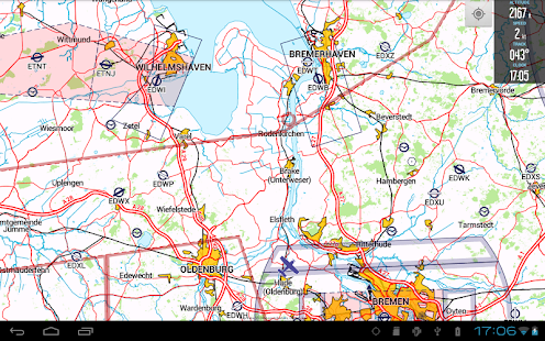 VFRnav flight navigation - screenshot thumbnail
