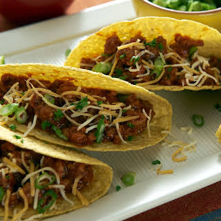 Ragu Turkey Chili Tacos.