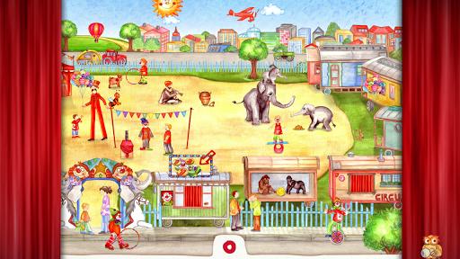 Animal Circus - Seek Find