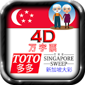 4D, TOTO, SG Sweep Large Fonts
