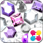 Cute Theme-Glittering Gems- icon
