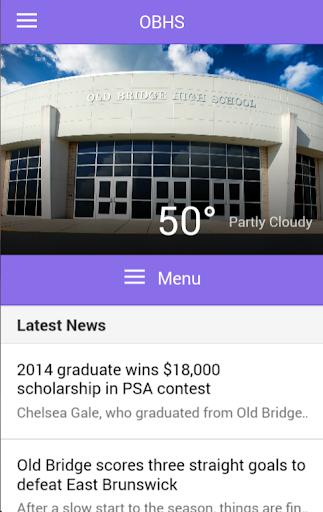 Old Bridge High School App