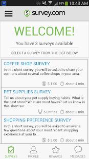 Survey.com Mobile- screenshot thumbnail