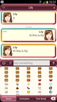 Screenshot of Bubble Style for SayHi Dating
