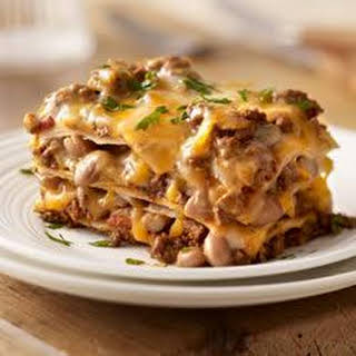 Our Favorite Mexican Style Lasagna.