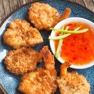 Butterflied Coconut Shrimp with Sweet Chili Dipping Sauce