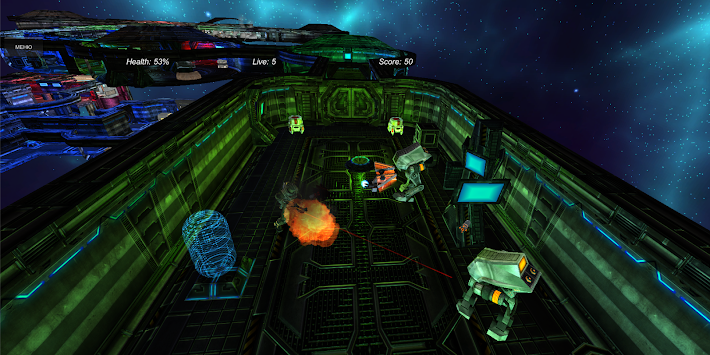 Robots 3d: Galactic Troopers apk screenshot