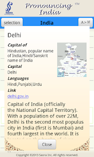 Pronouncing India- screenshot thumbnail
