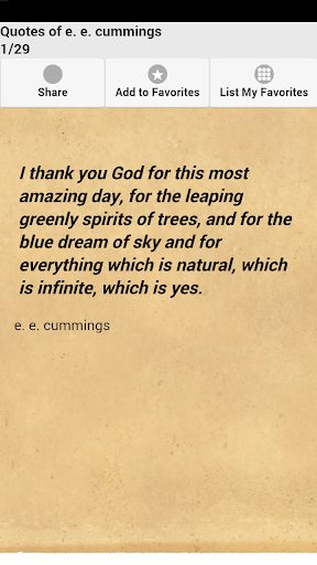 Quotes of e. e. cummings