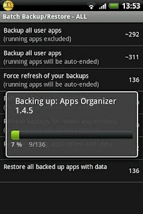 Titanium Backup ★ root needed Capture d'écran