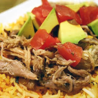 the Mexican pulled pork.