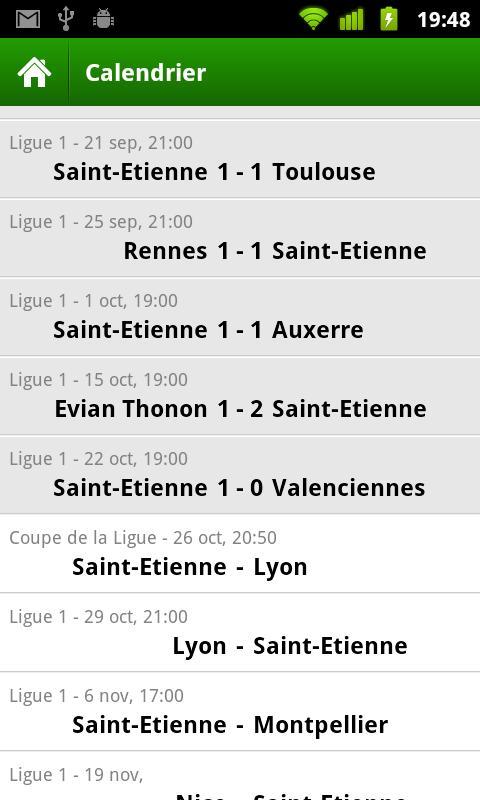 ASSE - Saint-Etienne- screenshot