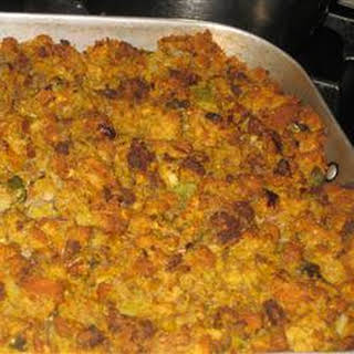 Cornbread Stuffing With Sausage.