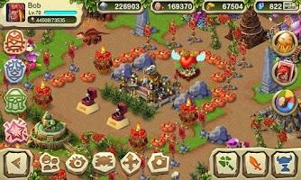 Screenshot of Dinosaur War