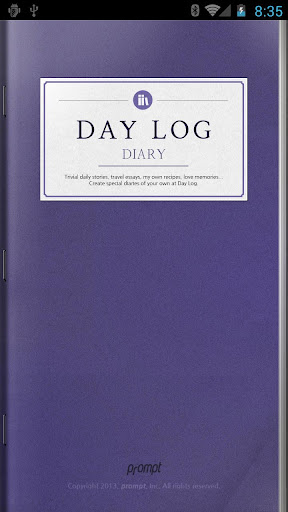 Day Log - Diary