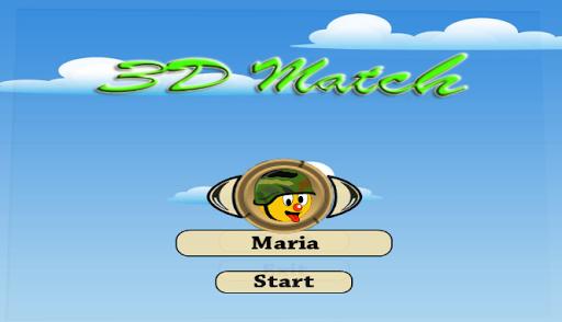Memory Match 3D