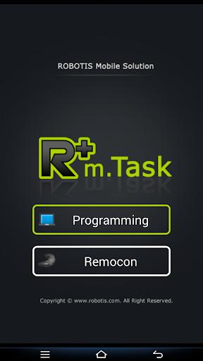 R+ m.Task ROBOTIS Test