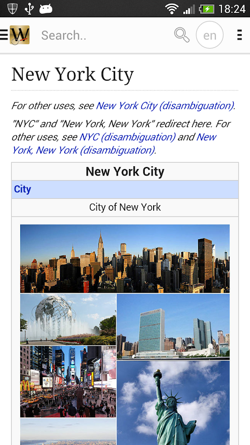 Wiki Encyclopedia Pro- screenshot